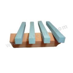 熊猫 四方油石 SF10*100GC180 材质:绿碳化硅 规格:10*100mm 粒度:180#  条