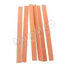 熊猫 半圆油石 SB10*150WA180 材质:红刚玉 规格:10*150mm 粒度:180#  条