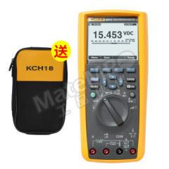 福禄克 真有效值电子记录万用表 F287C 交流电压量程:1000V 交流电流量程:10A  个