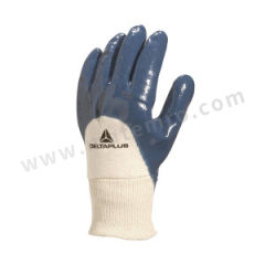 代尔塔 重型硫化棉丁腈3/4涂层手套 201150  副