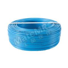 三木电缆 铜芯聚氯乙烯绝缘软电缆 BVR-450/750V-1×10 线芯数:1 颜色:蓝色  米