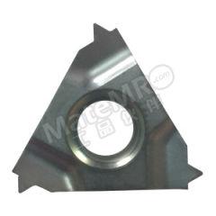 京瓷 内螺纹刀片(公制60°) 16IR100ISO-TQ PR1515 刀具材质:硬质合金 适宜加工材料:不锈钢 螺距(牙数):1mm 材质编码:PR1515  盒