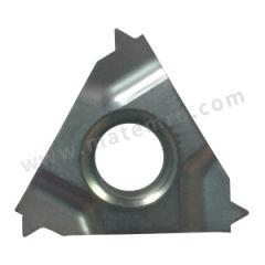 京瓷 内螺纹刀片(公制60°) 16IR125ISO-TQ PR1515 刀具材质:硬质合金 适宜加工材料:不锈钢 螺距(牙数):1.25mm 材质编码:PR1515  盒