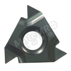 京瓷 内螺纹刀片(60°螺纹) 06IR60005 PR1115 刀具材质:硬质合金 螺距(牙数):0.75~1.25mm(28~20) 适宜加工材料:碳钢/不锈钢/合金钢 材质编码:PR1115  盒