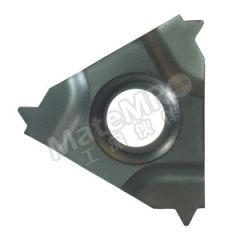 京瓷 外螺纹刀片(英制60°) 22ER08UN PR1115 刀具材质:硬质合金 适宜加工材料:碳钢/不锈钢/合金钢 材质编码:PR1115 螺距(牙数):8  盒
