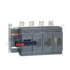 ABB OS隔离开关熔断器组 OS800D04N2P 极数:4P 额定电压:AC690V 额定电流:800A  个