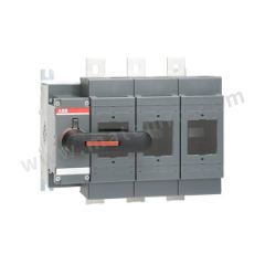 ABB OS隔离开关熔断器组 OS800D03K 极数:3P 额定电压:AC690V 额定电流:800A  个