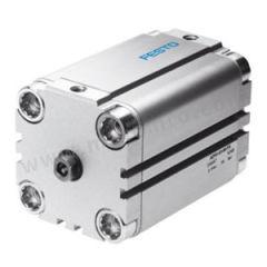 费斯托 ADVU系列双作用紧凑型气缸(内螺纹活塞杆) ADVU-50-10-P-A 是否附磁石:是 附件类型:附垫缓冲  件