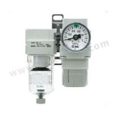 SMC AC30B系列空气过滤器减压阀组合件 AC30B-03DE-SV-B 附件类型:附压力开关+残压释放3通阀 排水方式:自动排水式  个