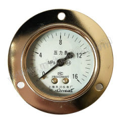 天川 铁壳压力表(轴向带前边) Y150/0-0.06MPA/G1/2 精度:1.6级 安装方式:轴向带前边 材质:铁壳 量程:0-0.06MPA  个