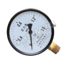 天川 铁壳压力表(径向不带边) Y100/0-16MPA/G1/2 安装方式:径向不带边 精度:1.6级 材质:铁壳 量程:0-16MPA  个