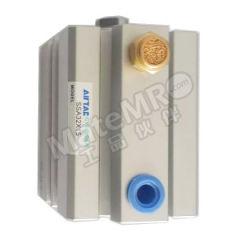 亚德客 SSA系列超薄气缸 SSA25×25 是否附磁石:否  个