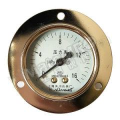 天川 304不锈钢压力表(轴向带前边) Y40/0-10MPA/G1/8 材质:304不锈钢 精度:2.5级 安装方式:轴向带前边 量程:0-10MPA  个
