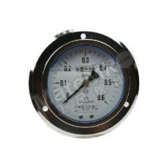 天川 普通不锈钢耐震压力表(轴向带前边) Y40/0-0.25MPA/G1/8 精度:1.6级 材质:普通不锈钢 安装方式:轴向带前边 量程:0-0.25MPA  个