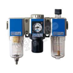 亚德客 GC系列金属杯三联件 GC300C10F3WGK 是否有压力表:是 附件类型:附支架+逆流阀 接口:G3/8  套