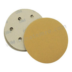 ASTRONTOP SD50背胶砂碟(黄砂) AS-J-SD50-5I6H-150 材质:氧化铝 最小起订量:1 孔数:6孔 包装数量:100片/盒 粒度:150#  盒