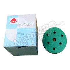 太阳 背胶砂碟 SL-J-6I15H-100 最小起订量:1 材质:皓钢砂 粒度:100# 包装数量:100片/盒 孔数:15孔  盒