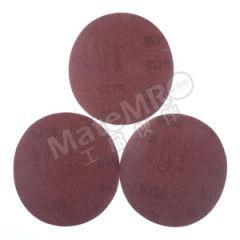 金牛 背胶砂碟(红砂) JN-J-6I0H-150 材质:氧化铝 最小起订量:1 包装数量:100片/盒 粒度:150# 孔数:无  盒