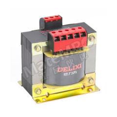 德力西 CDDK系列控制变压器 CDDK-100VA 380V/24V 额定电压:AC380V/24V 外形尺寸(高×宽×深):84mm×83mm×94mm 额定容量:100VA  个