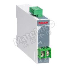 德力西 CDBS单相电流电压变送器 CDBS-I/A AC0-5A/DC0-5V 输入信号:AC 0~5A 输出信号:DC 0~5V 额定电压:AC220V±10% 外形尺寸(高×宽×深):79mm×50mm×105mm  个