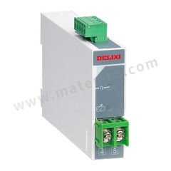 德力西 CDBS单相电流电压变送器 CDBS-U/D DC0-500V/4-20mA 输入信号:DC 0~500V 额定电压:AC220V±10% 输出信号:DC 4~20mA 外形尺寸(高×宽×深):79mm×50mm×105mm  个