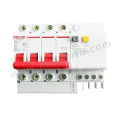 德力西 DZ47sLE小型漏电保护断路器 DZ47sLE 4P C  16A 75mA 分断能力:6KA 额定电流:16A 额定电压:AC400V  个