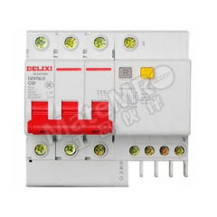 德力西 DZ47sLE小型漏电保护断路器 DZ47sLE 3P+N C  16A  100mA 分断能力:6KA 额定电流:16A 额定电压:AC400V  个