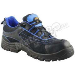 优工 多彩款低帮牛皮安全鞋 PAD-U1721BU 颜色:蓝黑色  双