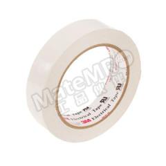 3M PET电气绝缘胶带 1350F-1W 厚度:0.063mm 温度等级:130℃ 长度:66m 击穿电压:5500V 宽度:50mm  卷
