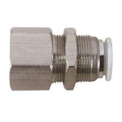 亚德客 BPMF系列全金属内牙穿板直通管接头(插管-螺纹类) BPMF801  个