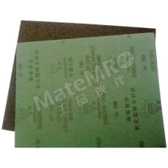 钻石 钻石耐水砂纸 SS-320 磨料材质:氧化铝 包装数量:100张/包 背基材质:重型纸 规格:230×280mm  包