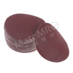 ASTRONTOP SD10背胶砂碟(红砂) AS-J-SD10-4I0H-36 材质:氧化铝 最小起订量:1 粒度:36# 包装数量:80片/盒 孔数:无  盒