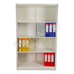 集大 独立式无门柜 WH2-W-14B 层板配置:三块层板 颜色:白色  台
