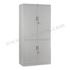 集大 双节开门柜 CAB-K10-K7 层板配置:上节门内两块层板,下节门内一块层板  台
