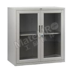 集大 钢制玻璃文件柜 CB-BK-9 层板配置:一块层板  个