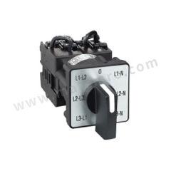 施耐德电气 K1万能转换开关 K1F027MLHC 手柄类型:H型 安装方式:多孔安装 控制面板:中英文面板 触点数量:6  个