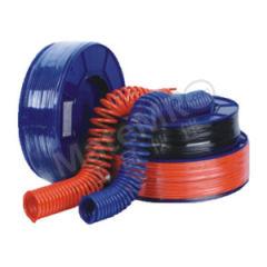 纽立得 PU气管 PU0604O-200-J 材质:PU 颜色:橙色 内径:4mm 长度:200m  卷