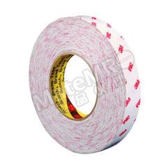 3M 棉纸双面胶带 9888T 长期耐高温:80℃ 短期耐高温:120℃ 长度:50m 厚度:0.15mm 宽度:300mm  卷