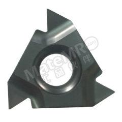 京瓷 内螺纹刀片(锥度管55°) 16IR14BSPT-TQ PR1515 刀具材质:硬质合金 适宜加工材料:不锈钢 材质编码:PR1515 螺距(牙数):14  盒