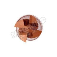 耐高酷乐 四刃平头尖角标准长整体硬质合金钢用铣刀 E435 160 D  28 100 S L 刃数:4 材质编码:硬质合金 柄径:16mm 有效刃长:45mm  支