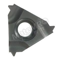 京瓷 内螺纹刀片(美式锥度管60°) 16IR14NPT PR1115 刀具材质:硬质合金 适宜加工材料:碳钢/不锈钢/合金钢 材质编码:PR1115 螺距(牙数):14  盒