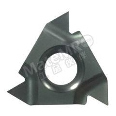 京瓷 外螺纹刀片(60°螺纹) 16ER6002 TC60M 刀具材质:陶瓷 适宜加工材料:碳钢/不锈钢 螺距(牙数):1.5~2.5mm(16~10) 材质编码:TC60M  盒