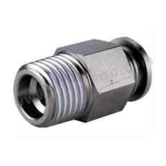 亚德客 BPC系列全金属螺纹直通管接头(插管-螺纹类) BPC1003  个