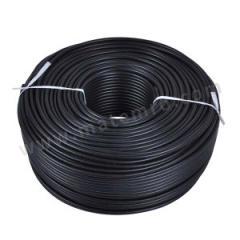 起帆 铜芯硅橡胶绝缘硅橡胶护套重型移动橡套软电缆 YGC-0.6/1kV-2×25 颜色:护套黑色 线芯数:2  米
