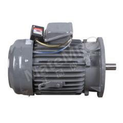 东元 立式刹车马达 3.7KW-4P-B5 安装方式:B5  台