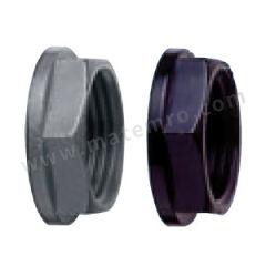 ABB 通贝产品-塑料螺母 LNPG/M40 颜色:灰色  包