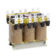 德力西 QZB系列起动用自耦变压器 QZB-100KW 380V 额定电压:AC380V 额定容量:100kVA 外形尺寸(高×宽×深):390mm×285mm×365mm  个