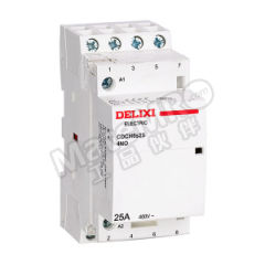 德力西 CDCH8S家用交流接触器 CDCH8s40 40A 4P 4NO 220-240V 辅助触头类型:4NO+0NC 额定工作电流:40A 线圈额定控制电压:AC220~240V  个