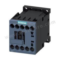 西门子 3RT6系列接触器 3RT60161AQ02 极数:3P 线圈频率:50Hz/60Hz 辅助触头类型:1NC 主触头类型:3NO 额定工作电流:9A 额定工作电压:AC400V 线圈额定控制电压:AC380V  个