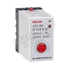 德力西 JS14A系列晶体管时间继电器 JS14A  0.1-1S AC36V 额定电流:3A 功能:接通或切断较高电压、较大电流的电路  个